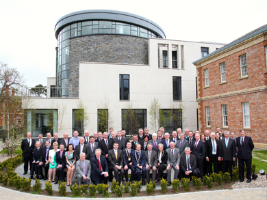 The opening of the new Down Civic Centre was attended by political representatives from across County Down.