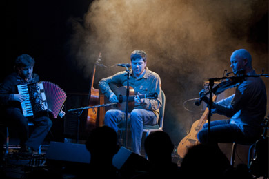 Come and see outstanding folk band LAU at the Down Arts Centre in Downpatrick.