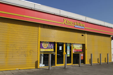 The Downpatrick Xtra-vision outlet is one of the several across County Down that are affected by company going into receivership.