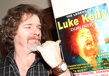 Chris Kavanagh is to play his tribute to the late Luke Kelly at the Festival on the Lough