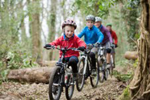 Enjoy the summer months - why not try out the new mountain biking trail at Castlewellan.