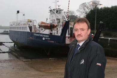 Ards Councillor Joe Boyle has expressed his concern that both ferries were not used during the two busy holiday weekend periods this year so far.