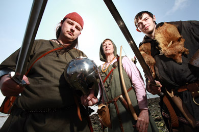 Vikings will be showing of their battle skills as well as their more domestic side in Strangford and Portaferry this weekend (!-2 June).