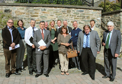 The First Flight Wind Stakeholder Panel pictured at their second meeting.