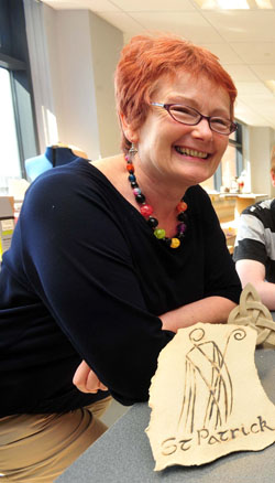 Art Lecturer Alice McDaniel has been awarded an MBE.