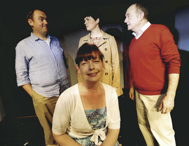 The summer season in Newcastle kicks off with a performance of relatively Speaking.