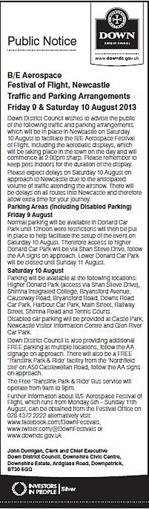 Traffic & Parking Arrangements