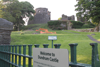 Mystery of the past - the ownership of the road to Dundrum Castle is being investigated.