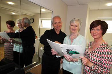 At the recital in the Down Arts Centre were tenor Eugene O'Hagan, pianist Elizabeth Bicker and mezzo-soprano Debra Stuart.
