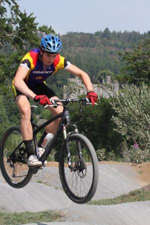 The mountain bike trail in Castlewellan in now officially open.