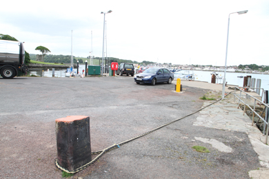 Strangford jetty users may soon be blocked off for public access by a fence.