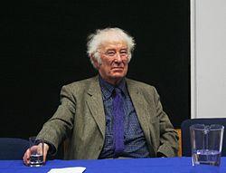 Seamus Heaney (1939-2013).