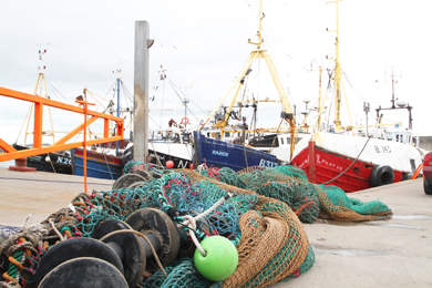 Councillor Colin McGrath has pledged his support to the local fishing industry.