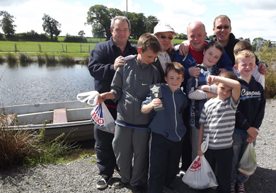 The visitors from Dundalk who enjoyed their day at Islandderry.