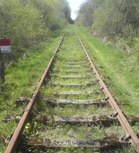 A section of rail that the DCDR would like to see back in full operation.
