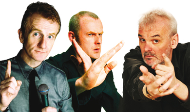 The Blame Game: will be appearing at the Great Hall in Downpatrick.