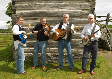 The Knotty Pine ble grass band will be performing in the Down Arts Centre.