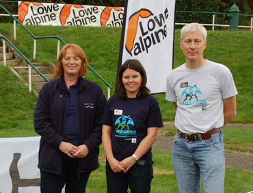 NI Water's Jane Jackson, Mark Pruzina and Kerry Hall.