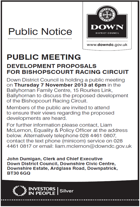 Public Meeting Ballyhornan