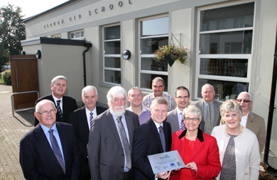 Clough Old School is officially opened after an extensive renovation.