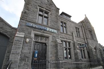 The former Danske Bank in Castlewellan.