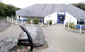 The Exploris Aquarium in Portaferry - at the centre of a growing political row.