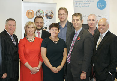 Health Minister Edwin Poots launched the Alcohol and You initiiative.
