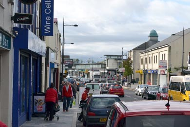A 5-year old child has been involved in a hit and run accident in Downpatrick.