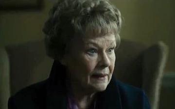Dame Judi Dench who stars in Philomena.