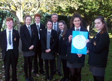 St Columba's College Portaferry has scooped a top UNICEF award.