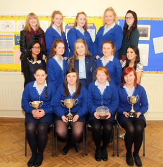 Recipients of the GCSE Subject Awards.