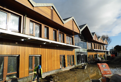 Daisy Lodge in Newcastle, looking on to the Mountains of Mourne, is nearing completion.
