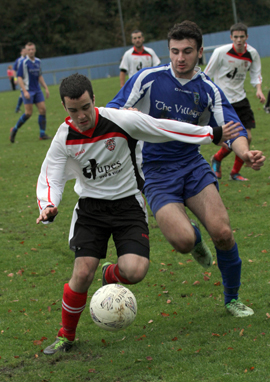 The clash between Kilmore and Killyleagh was close cut.