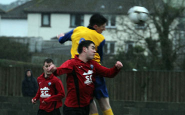Ardglass were beaten in the last minute by a well taken goal from Drumaness left winger Paul McEvoy.