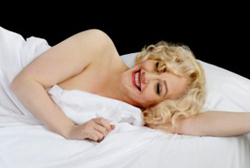 Get a glompse of the real Marilyn Monroe at the Down Arts Centre on Saturday 1 February.  Show starts at 8pm.