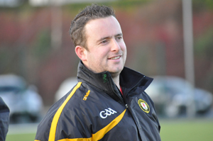 Ryan McShane, Down ladies Gaelic football coach, looking forward to the clash with Meath.