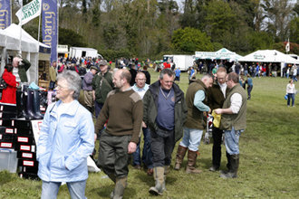 Albert Titterington has a veritable list of successful game fairs under his belt all over Ireland.