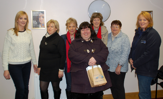 Members of Newry and Mourne Carers met with NI Water for an information session.