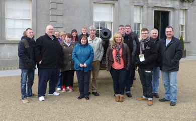 The Downpatrick Community Collective on tour in the ROI.
