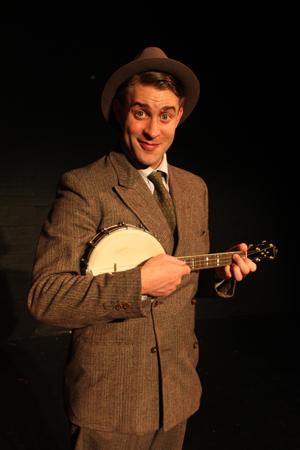 Ewan xxx as George Formby.