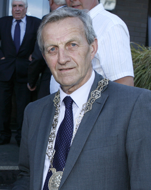 Former Down District Council Chairman Councillor William Dick will be retiring from the political furore in 12 months time.