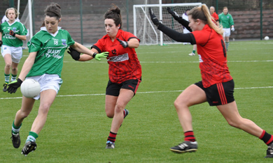 Down defended well against a determined Fermanagh side who are hoping to avoid relegation to Divison 3.