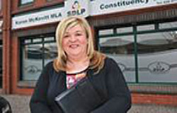SDLP Councillor Giliam Fitzpatrick is concerned about rural crime in the Mayobridge and Saval areas.