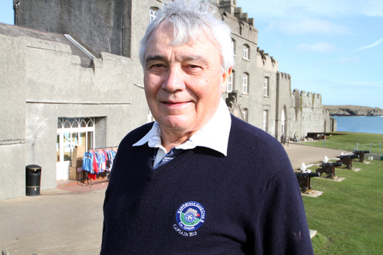 Fighting fit: former Ardglass Golf Club  captain Sean Murnin who suffered a stroke during his captain's day celebration at the club last July speaks of his experience of falling suddenly ill.