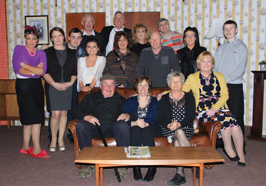The Separate Beds comedy cast at St John's GAC.