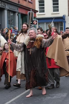 St Patrick in Downpatrick.