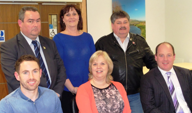 The Down District Council Disability Committee recently met representativews from suicide awareness groups PIPS and from the Siuth Eastern Trust.