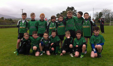 The Under-10's pictured at their blitz in Castlewellan.