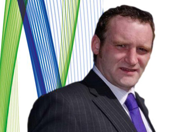 Alistair Straney standing in the local government election in the Slieve Croob District Electoral Area.