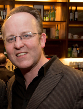Jimmy Fay, the new Executive Producer at the Lyric Theatre, Belfast.